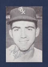 Mike Fornieles signed Chicago White Sox baseball postcard 1932-1998