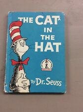Vintage Dr. Suess book club edition 1957 The Cat In The Hat Children