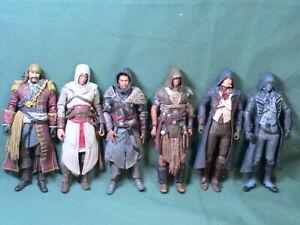 Mixed action figure lot, Assassins