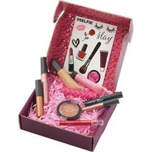 NIB ULTA Unboxed Beauty 10 Piece Beauty Box Lip Eye Brow Blush Balm Strobe More!