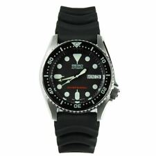 Seiko Prospex Men's Black Watch - SKX013