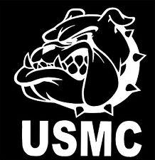 "USMC Bulldog ""Chesty"" Vinyl Decal Sticker Car Truck Window**buy 2, get 1 free"