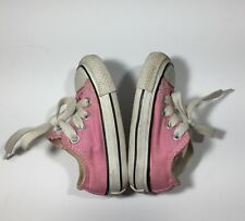 Converse Chuck Taylor All Star Ox Low Top Shoes Infant Toddler Pink Baby Girl 3