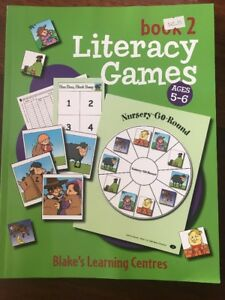 Literacy Games Book 2 Ages 5-6 Blake Education New
