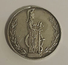 GREECE GREEK / Silver Medal 1906 Athens 2nd Olympic Games (without ribbon,link)