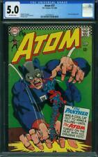 Atom #27 CGC 5.0 -- 1966 -- Time Pool Backup Story. Panther. Kane #2033844019