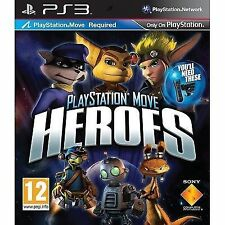 Sony PlayStation 3 Ps3 PlayStation Move Heroes Video Game