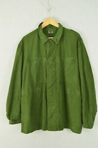 Vintage Faded Green Chore Jacket - Swedish Army - All Sizes