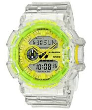 Casio G-Shock * GA400SK-1A9 Skeleton Yellow Clear Resin Watch Ivanandsophia