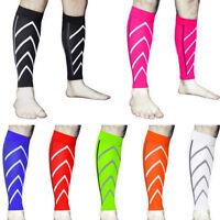 2xAdjustable Compression Neoprene Calf Support Sleeve Shin Splints Muscle Injury