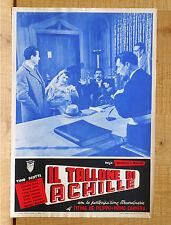 IL TALLONE DI ACHILLE fotobusta poster Paolo Stoppa Tamara Lees Tino Scotti L82