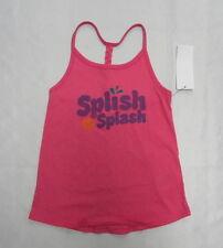 Roxy Kids Sz 5 Shirts Tank Tops Splish Spash Pink