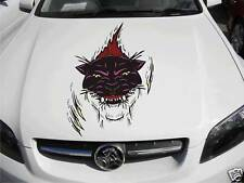 Bonnet Panther Rippin Decal Sticker Car Ute Caravan RV Truck Free Postage Large