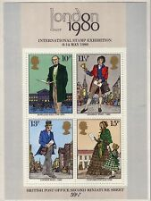 GB 1979 SIR ROWLAND HILL excellent état MINI FEUILLE SG ms1099 MNH