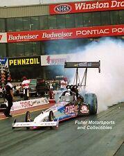 TONY SCHUMACHER EXIDE NHRA TOP FUEL DRAGSTER 2000 8X10 PHOTO COLUMBUS OHIO