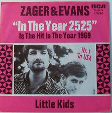 "ZAGER & EVANS - LITTLE ENFANTS - 7""SINGLE (F420)"