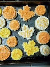 Fresh Homemade FALL Cream Cheese Butter Cookies w/Homemade Buttercream Frosting
