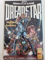 DREADSTAR #50 (1990) FIRST COMICS ANNIVERSARY ISSUE PRESTIGE FORMAT! MEDINA ART!