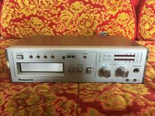 Vintage Panasonic 8-Track Tape Player & Recorder Rs-856 Tested Working Insured