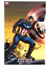Captain America Civil War 2016 SDCC Exclusive Promo Poster Marvel Custom