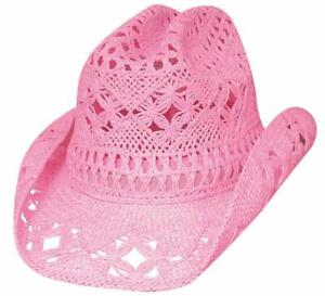 NEW Bullhide Hats 2357P LIL' PARDNER COLLECTION APRIL Cowboy Youth Hat