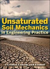 Unsaturated Soil Mechanics in Engineering Practice by M. D. Fredlund, Rahardjo..