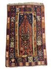 Antique Turkish Prayer Kilim Circa 1920 : Size is 152 x 92 cm 5.0 x 3.0 ft