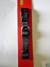 """Dog Collar Black Pet Dogs Medium 14""""- 22"""" Quick Release / See All My Other Items"""