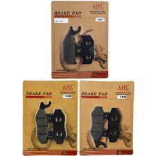 Front Rear Brake Pads Kit for Yamaha Rhino 450 Rhino 660 Raptor 700 Raptor 700R