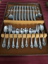TOWLE SUPREME CUTLERY - 52 Pc STAINLESS STEEL FLATWARE SERVICE SET - JAPAN