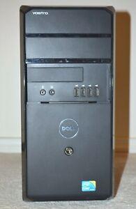 DELL VOSTRO 430 Series Desktop Intel i5 2.67GHz 4GB 160GB HDD Win 10 Pro DVDRW