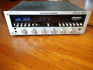 Classic: Marantz 2275 AM/FM Stereo Receiver with Phono, Works, Needs Service