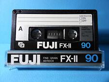 🙈 1x FUJI FX-II 2 90 * IEC TYPE II 2 * Tape Cassette Kassette кассета Casete *