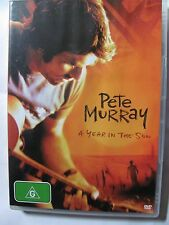 Pete Murray - A Year in the Sun   DVD 2005  mint