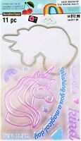Unicorn Clear Stamp and Die Set by Recollections 535934 NEW!