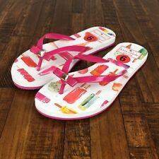Kate Spade Flip Flops Sandals Nadine Mini Popsicle Pink Ice Cream Womens Size 6