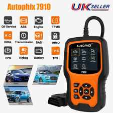 OBD2 Full System Diagnostic Code Reader Scanner Tool ABS SRS EPB Battery 7910