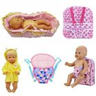 Baby Dolly Doll carrier backpack sleeping bag Clothes children's toys accesories