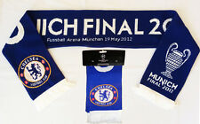 CHELSEA SCARF FINAL CHAMPIONS LEAGUA 2012 WINNER MUNICH ig93 5+/5