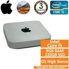 Apple MAC MINI A1347 Core i5 2.30GHz 8 GB Ram 120 GB SSD (a metà 2011) High Sierra
