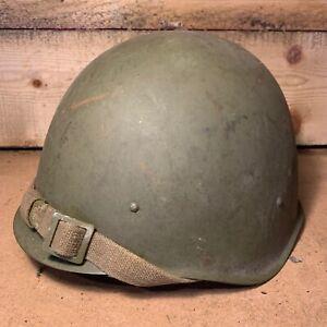 WW2 Era Russian SSh40 Pattern Helmet - Russian Front Find
