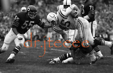 1967 Jerry Hill vs Doug Buffone - 35mm Football Slide/Negative