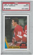 1987 Steve Yzerman O-Pee-Chee OPC #56 PSA 9 Mint Hockey Card