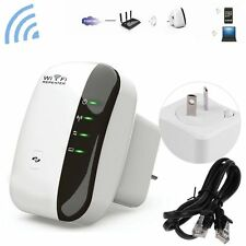 NEW 300Mbps Wifi Repeater N 802.11 AP Range Router Wireless Extender Booster AU