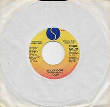FOCUS  Hocus Pocus  rare promo 45 from 1973