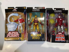Marvel legends Classic Lot 3 Guardian Iron Mans Walgreen Exclusive