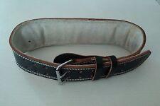 Valeo Leather Weight Lifting Belt - Padded