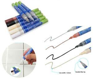 Grout Renew Pen Anti-Mould Reviver Repair Restoration Kit Whitener Tile Gap Line