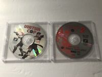 Virtua Cop 1 & 2 Sega Saturn Not For Resale DISCS ONLY Tested & Working
