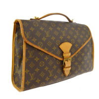 LOUIS VUITTON BEVERLY 2WAY BUSINESS HAND BAG MONOGRAM M51120 SL0951 A41244j